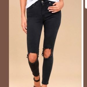 TODAY ONLY SALE! Free People Black Skinny